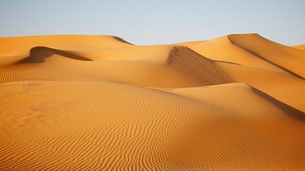 Dünen bei Jereirah