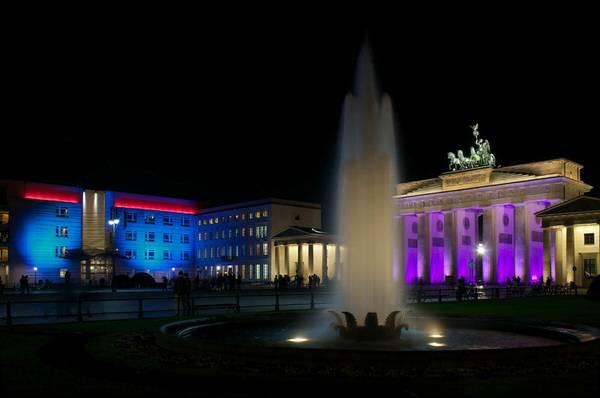 Brandenburger Tor und Amerikanische Botschaft