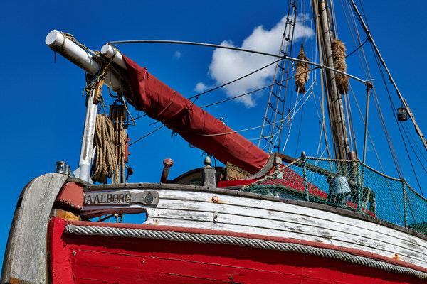 Segelschiff in Aalborg