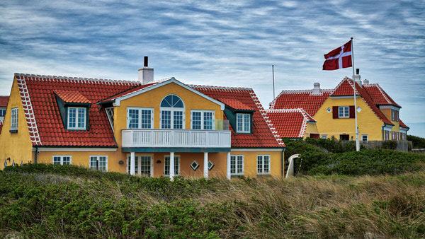 Ferienhäuser in den Dünen von Alt-Skagen