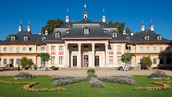 Schloss Pillnitz, Bergpalais