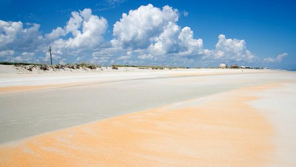 Strand südl. St. Augustine
