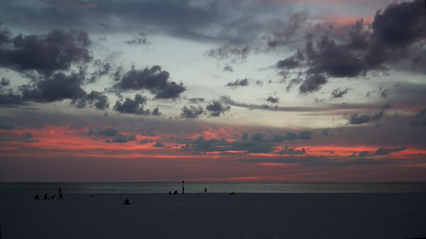 Sonnenuntergang, Clearwater Beach