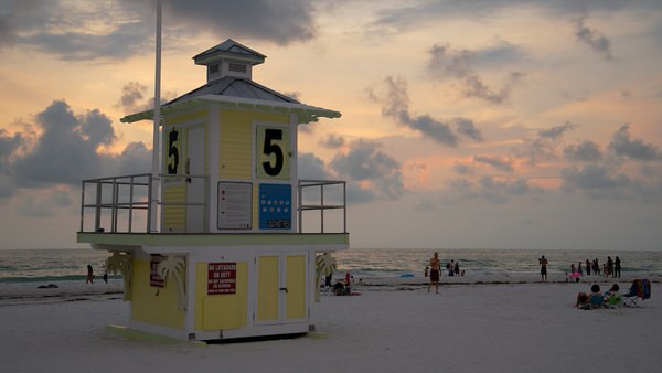 Abendstimmung, Clearwater Beach
