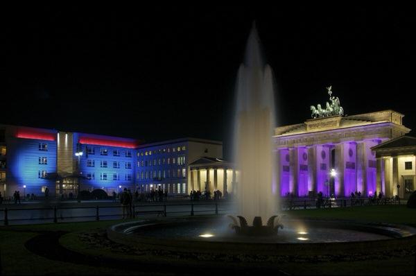 US-Botschaft - Brandenburger Tor