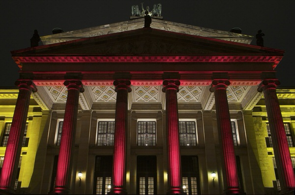 Eingang Konzerthaus