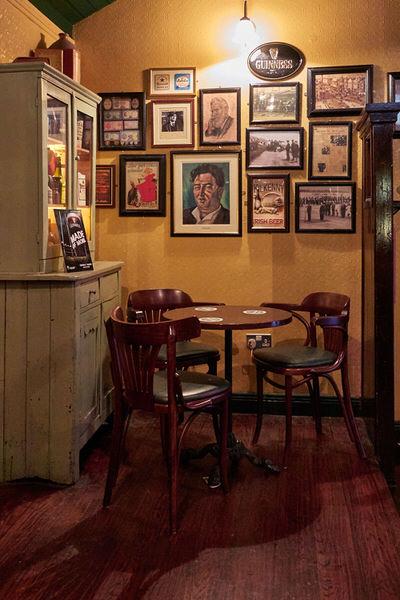 Abends im Pub, Dublin