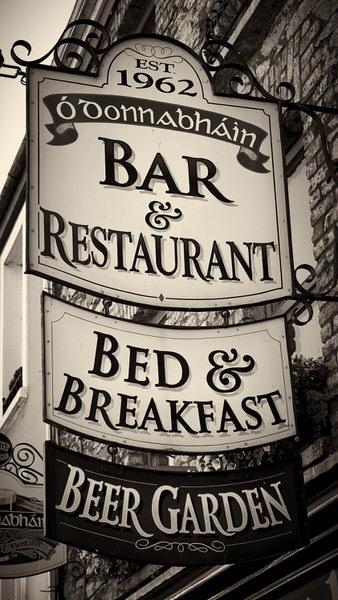 All inclusive: Bier trinken, gut essen, weiter Bier trinken, schlafen, frühstücken, usw. . .