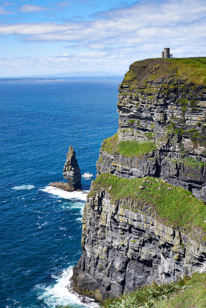 Cliffs of Moher, Blick nach Norden mit dem O'Brien's Tower