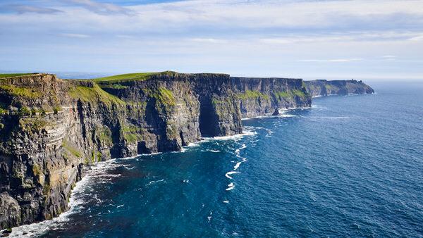 Cliffs of Moher, Blick nach Süden auf den Hag's Head