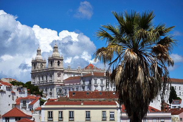 "Blick vom Aussichtspunkt ""Santa Luzia"" (Miradouro de Santa Luzia)"