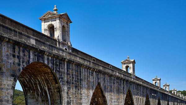 Das Aquädukt (Aqueduto das Águas Livres)