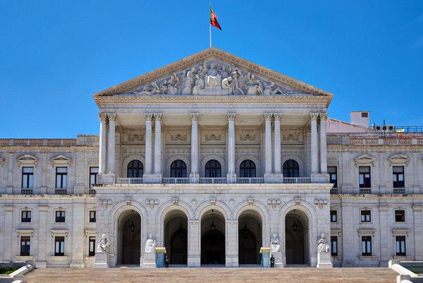 Das portugiesische Parlament (Assembleia da República)