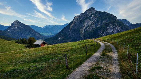 Der Weg zur Rettenegghütte