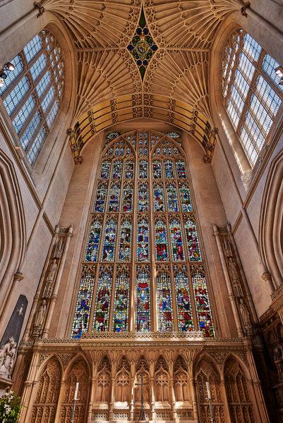 Innenansicht Bath Abbey