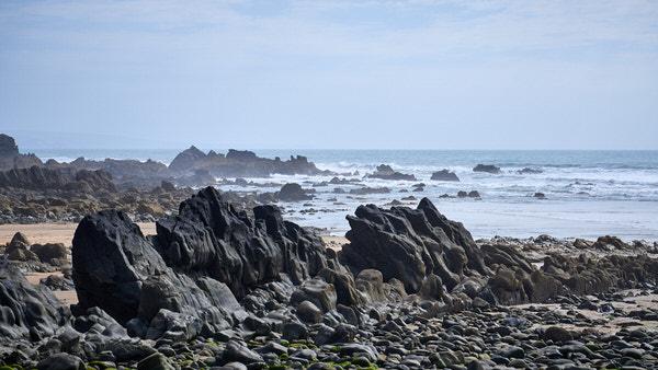 Duckpool Beach nahe Bude