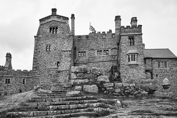 Schloss auf St. Michael´s Mount