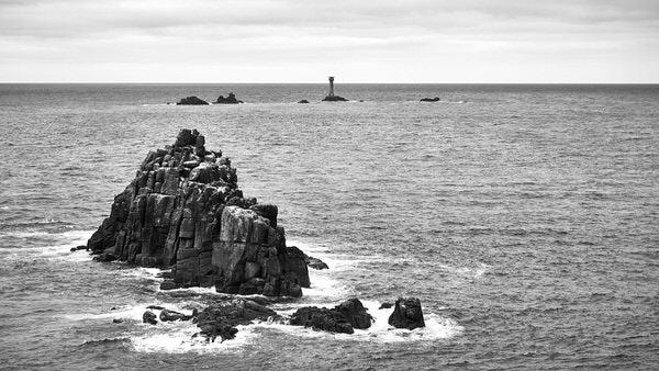 Land´s End mit Longships Lighthouse