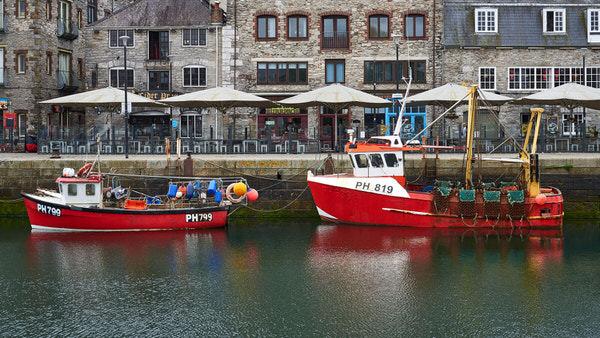 Hafen und Vergnügungsviertel von Plymouth