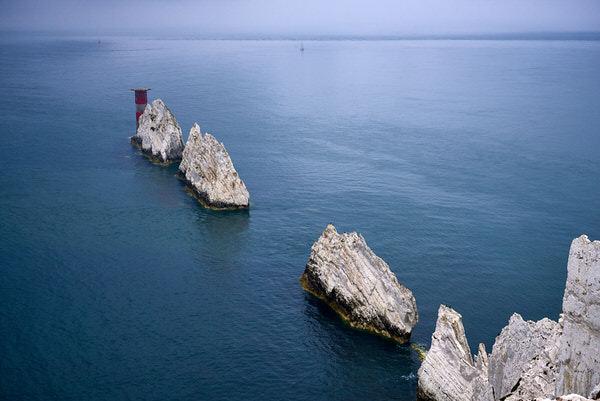 The Needles im Westen der Isle of Wight