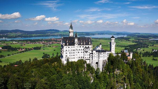 Auf dem Transit: Schloss Neuschwanstein in Hohenschwangau